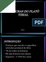 Fraturas Do Platô Tibial