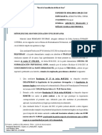 Modelo de Escrito de Solicitud de Pago ONP