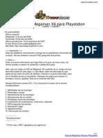 Guia Trucoteca Megaman x6 Playstation