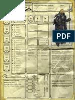 Ficha - Cavaleiro Dragão Púrpura