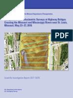 Sediment River Measurements Saint Louis USGS