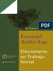 Ander Egg Ezequiel - Diccionario Del Trabajo Social