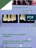 L'Esthétique en Prothèse Dentaire