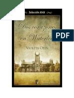 Violeta Otín - Dos corazones en Waterloo