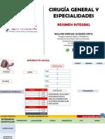 Clases Cirugia Gral y Especialidades