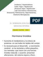 Clase Endocrino - FISIOLOGIA