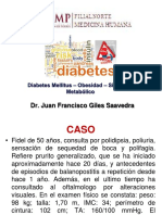 DIABETES MELLITUS ,Obesidad  Y SINDROME METABOLICO