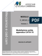 D MES23 2 v2 Modellazione Solida Appendice CATIA V5