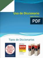 Uso de Diccionario