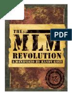 Randy Gage - MLM Manifesto