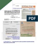 Bộ Ngân khố Cấp Phép & BảnTin YTGHCGVN & Lá Thư LHQ + HĐGM Hoa Kỳ Chấp Thuận ...
