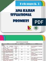 Presentasi Kajian Situasi Promkes