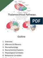 Corticothalamic Pathways
