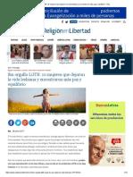 Sin Orgullo LGTB_ 10 Mujeres Que Dejaron La Vida Lesbiana y Encontraron Más Paz y Equilibrio - ReL