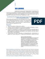 Convocatoria Laboral - Coordinador Proyecto Formando Empendedores 3