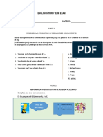 Third Term Test.docx Inglés II (2)