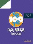 Programa CASA ABIERTA 2017 - PUCP