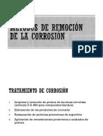 Métodos de Remocion de La Corrosión