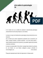 Un comentario sobre la psicología evolucionista.pdf
