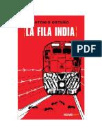 La Fila India – Antonio Ortuño