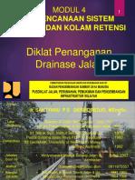 MODUL 4- Perencanaan Sistem Polder Dan Kolam Retensi, 104 Hal