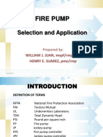 Fire Pump Selection
