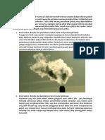 Dampak Negatif Pemanasan Global