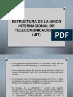 Estructura de La Uniòn Internaciona de Telecomunicaciones