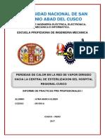Caratula Del Informe de Practicas Pre Profesional i