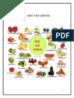 Algunas frutas en Alemán