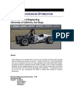 FSAE Suspension Optimization