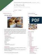 Cocinar Con MyCook_ LECHE FRITA