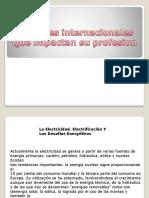 Variables Internacionales Que Impactan en Su Profesion