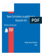 Bases Curriculares Educacion Vial Mineduc