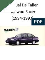 Daewoo Racer (1994-1997) Manual de Taller