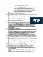 Kisi Kisi Pertanyaan Surveyor Untuk Bab IV