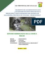 ESTUDIO HIDRICO_SALCABAMBA ...