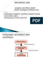 Perbedaan Akreditasi Dan Sertifikasi