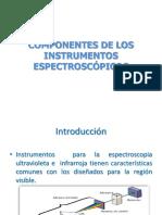 Componentes de Los Instrumentos Espectroscópicos