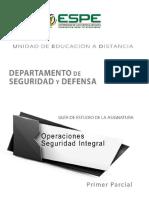 Operaciones Seguridad Integral