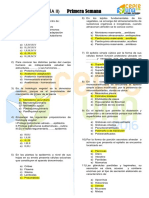 ANATOMÍA CUESTIONARIO PREUNIVERSITARIO