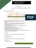 Soal dan Pembahasan Fisika SMA Gerak Parabola