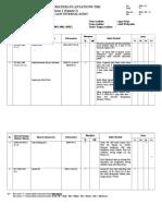 Checklist Internal Audit - Maintenance (2017)