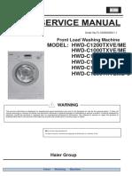 Service Manual (Hwd-c1200txve-u Ce0gd3e0d00)
