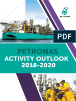 PETRONAS Activity Outlook 2018-2020