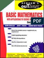 74748905 Schaum s Basic Mathematics 497