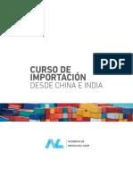 Programa Curso Importacion China India