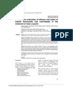 10. Original Fluconazole vs Clotrimazole in Tinea Corporis