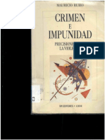Crimen e Impunidad