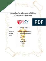 Historia Clinica Nº 01 – Emergencias Obstetricas 2da Unidad